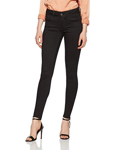 G-STAR RAW Damen Jeans Lynn D-Mid Super Skinny Wmn, Schwarz (Rinsed 082), W28/L30