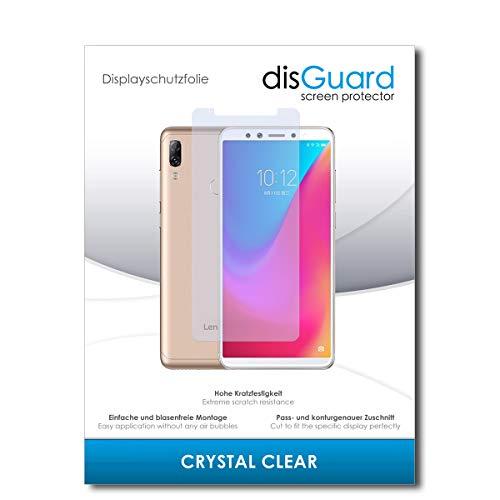 disGuard® Bildschirmschutzfolie [Crystal Clear] kompatibel mit Lenovo K5 Pro [2 Stück] Kristallklar, Transparent, Unsichtbar, Extrem Kratzfest, Anti-Fingerabdruck - Panzerglas Folie, Schutzfolie