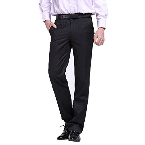 Bold Manner Herren Anzughosen Slim Fit Straight Leg Skinny Casual Business Hosen