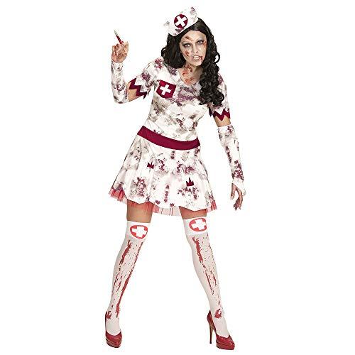 Widmann 07504 Erwachsenen Kostüm Zombie Krankenschwester, womens, XL