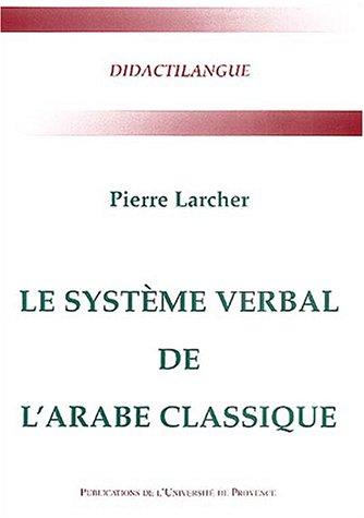 Le système verbal de l'arabe classique