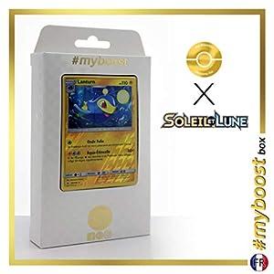 Lanturn 50/149 Holo Reverse - #myboost X Soleil & Lune 1 - Box de 10 Cartas Pokémon Francés
