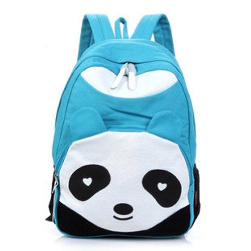 Imagen de zehui   escolar de tela para mujer, diseño de oso panda