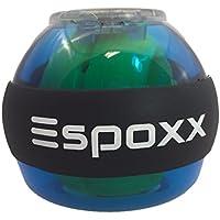 Espoxx Gyroskop Wrist Ball Display rotierender Hand und Armtrainer mit elektronischem Counter und Leuchtenden LEDs batterielos Gyroskop trainiert die Muskulatur