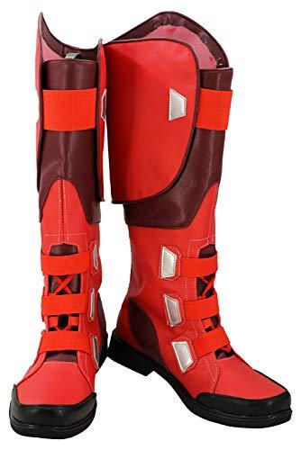 Captain America Stiefel - RedJade Captain America Stiefel Karneval Schuhe