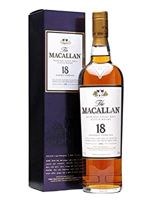 Macallan 18 Year Old - 1992 Vintage - Sherry Oak 70cl