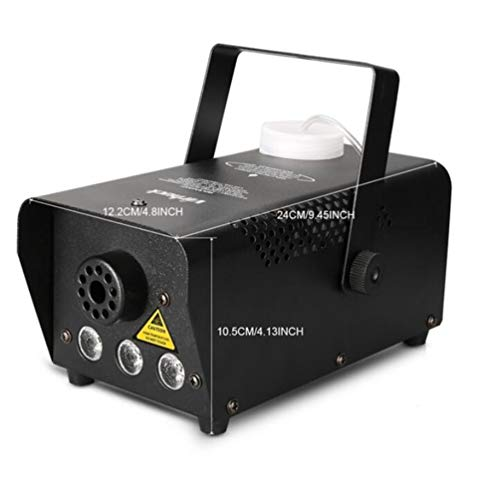 JASZHAO 400-Watt Tragbare Nebelmaschine Mit Drahtloser Fernbedienung, Rauchmaschinen Für Partys Halloween Hochzeiten Weihnachtsfeiern Tanz Oder Drama