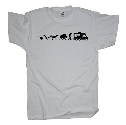 Ma2ca - 500 Mio Years Camper T-Shirt White