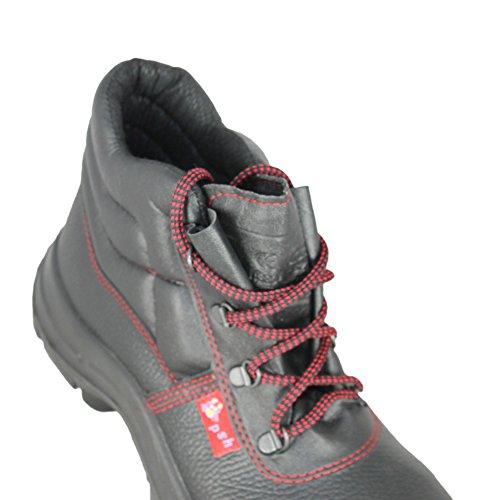 Hi Por Src Encima Psh Baustiefel S2 Negro Los Bp503 Zapatos Negro De 4qgFZf
