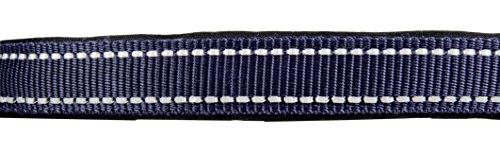 HKM 91876900.0651 Halfter -Reflex-, weich unterlegt Warmblut, dunkelblau