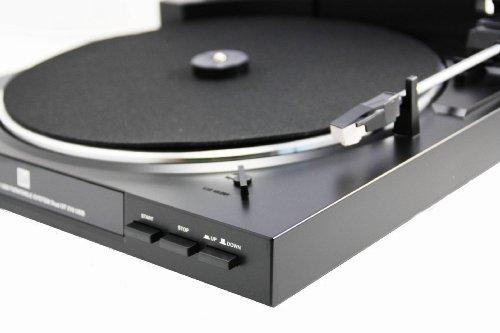 Dual DT 210 USB Schallplattenspieler USB-Anschluss, schwarz - 3