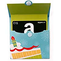 Amazoncouk Gift Card For Custom Amount In A Birthday Reveal