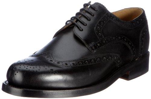 J.Briggs Goodyear , Chaussures à lacets homme Noir (001 schwarz)