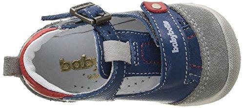 babybotte Parapente Baby Jungen Lauflernschuhe Blau - Bleu (076 Jeans)