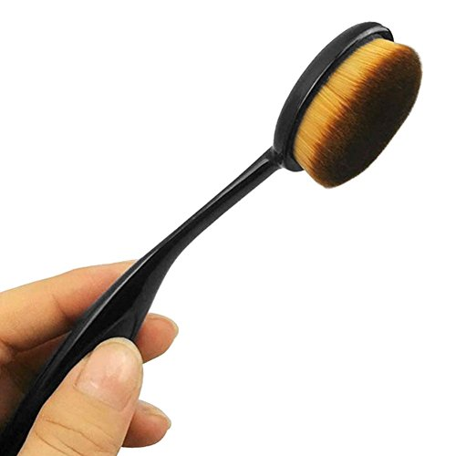 Eleery Brosse Maquillage Outils Brush Poudre Foundation Cosmétique Beauté & Make-up Ovale Pinceaux Professionnel