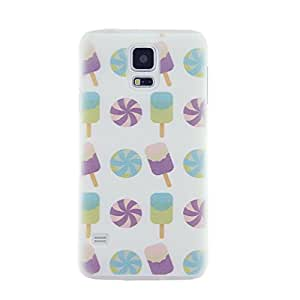 CaseBee - Popsicle Pattern Samsung Galaxy S5 i9600 SM-G900 case - Perfect Gift (Package includes Screen Protector)