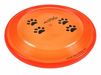 Trixie Frisbee Résiste aux Morsures 23 cm pour Chien,  Coloris aléatoire