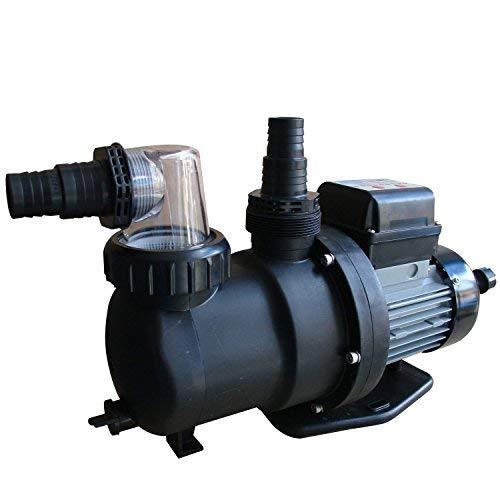Steinbach SPS 75-1T Filterpumpe, 230 V / 450 Watt, 142 l/min, max. Pumphöhe 9 m, integrierte Zeitschaltuhr, 040916