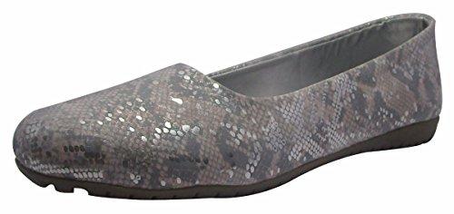 Sammy le style mocassin dérapant sur les chaussures de ballerines femmes ballet chaussures casual Pêche