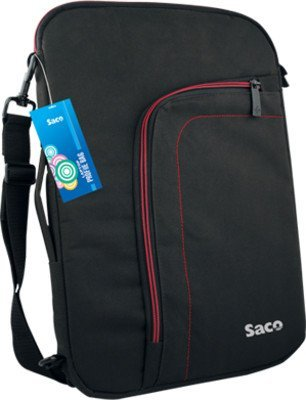 Saco superfit slim convertible bag for Dell Inspiron 5547 Notebook - 15.6 inch ( Black )