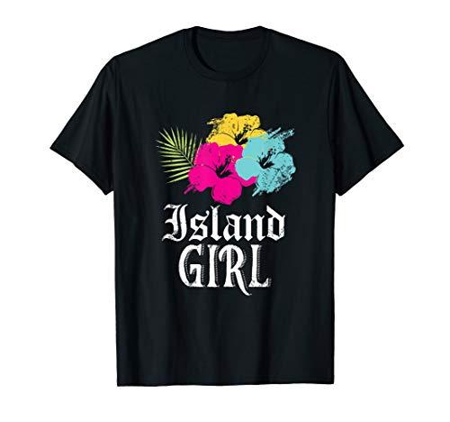 Insel Mädchen! Westindische Karibik Urlaub T-Shirt
