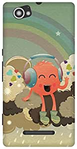 The Racoon Lean Radiohead hard plastic printed back case/cover for Sony Xperia M