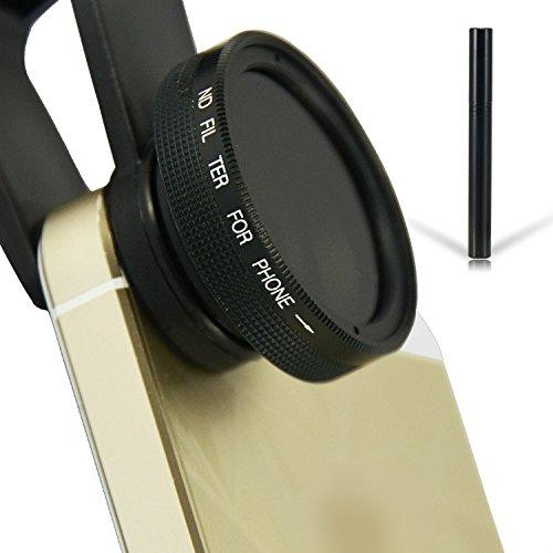 First2savvv JTSJ-PS-01F1 Telefon ND Neutral Graufilter filter Objektiv für Handys - Samsung Galaxy...