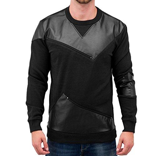 Bangastic Homme Hauts / Pullover PU Noir