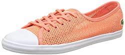 Lacoste Damen Ziane 217 1 Bässe, Orange, 38 EU