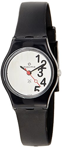 Maxima Analog Silver Dial Women's Watch - 03429PPLW image