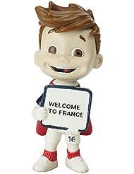 "UEFA EURO 2016 - MASCOTTE OFFICIEL 6 cm FIGURINE ""Welcome to France"""