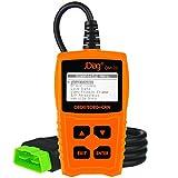 JDiag OM123 OBD2 Scanner Car lecteur de code outil de diagnostic EOBD CAN check engine light