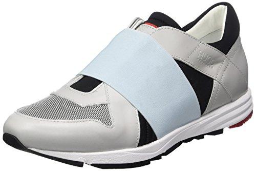 HUGO Damen Asya-e 10195764 01 Sneakers Grau (Black 5)