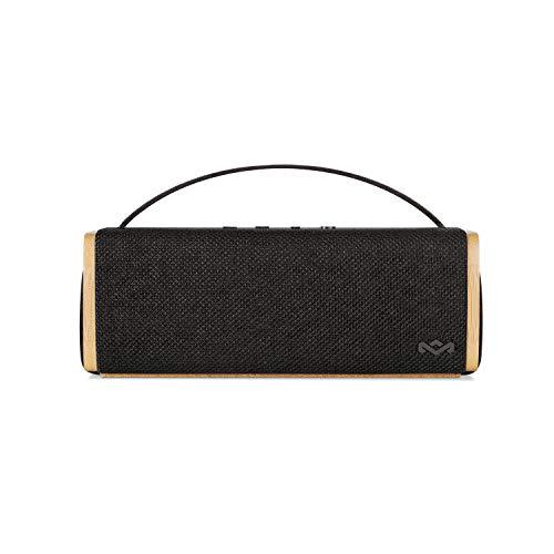 House of Marley Riddim BT – Portable Bluetooth Speaker, 1 5'' Full Range  Drivers, 10hr Battery Life, Aux -In, Easy Charge USB, Mic Speakerphone for