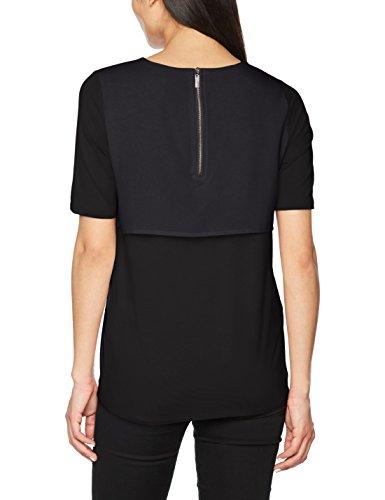 Garcia Damen T-Shirt Schwarz (Black 60)