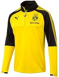 Puma BVB 1/4haut d'entraînement Sponsor Logo T-shirt