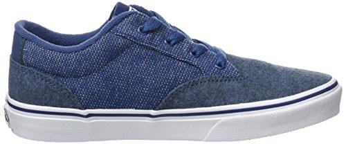 Vans  Yt Winston, Sneakers Basses garçon Bleu (Mixed Blue)