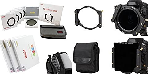 Haida Optical série 100 Kit de démarrage II – Métal Support de filtre