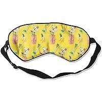 Banana Seamless Art Sleep Eyes Masks - Comfortable Sleeping Mask Eye Cover For Travelling Night Noon Nap Mediation... preisvergleich bei billige-tabletten.eu