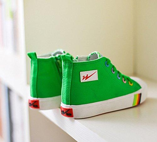 XTIAN , Baskets pour fille Vert