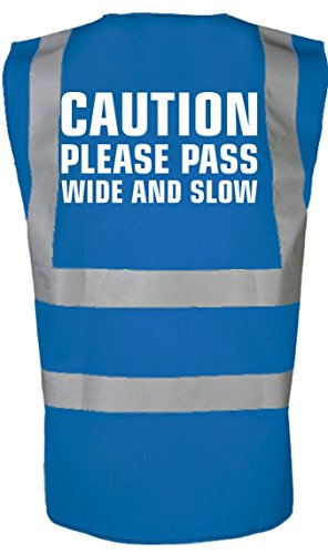 4122oE097HL BEST BUY #1Caution Please Pass Wide And Slow Equestrian Unisex Horse Riding Hi Vis Vest 8 Colours by swagwear price Reviews uk