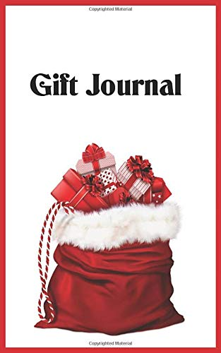 Gift Journal: 5X8 50 pages  Record /Track Gifts from Family & Friends -