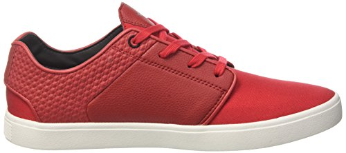 Creative Recreation Santos, Sneakers Basses Homme Rouge