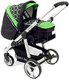 Chic 4 Baby 150 45 Linus Orbit - Passeggino combinato con borsa 3 in 1 extra leggera, struttura resistente