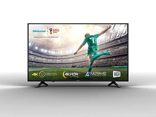 Hisense H 50 A 6100-126 cm (50 Zoll) Fernseher (4K Ultra HD, HDR 10, Smart TV, WLAN, Triple Tuner (DVB T2), USB) (Tv Hisense 50)