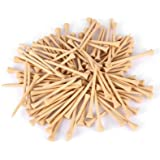 Zorbes Dominant 100pcs 83MM Bamboo Wooden Golfing Tee