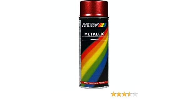 Metallic Lackspray Rot 400ml Auto