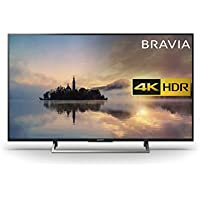Sony Bravia KD43XE7002BU 4K HDR Smart TV (X-Reality PRO for Enhanced Clarity, Texture and Detail Picture Quality, 2017 Model) - 43 inch, Black