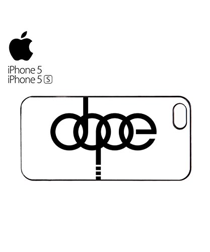 Dope Funny Car Brand Germany Mobile Phone Case Cover iPhone 6 Plus + White Blanc
