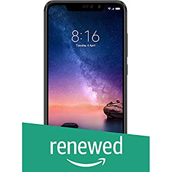 (Renewed) Redmi Note 6 Pro 64GB (Black, 6GB RAM)